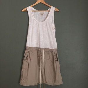 LOFT Drawstring Casual Dress
